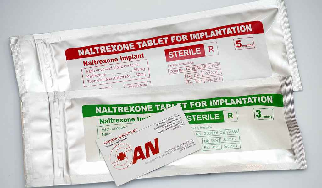 Имплантация Налтрексона в Ильинском Погосте цена
